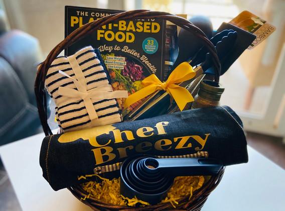 Custom Order - Chef Themed Basket