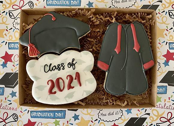 Graduation Cookie Gift Box C/o '21