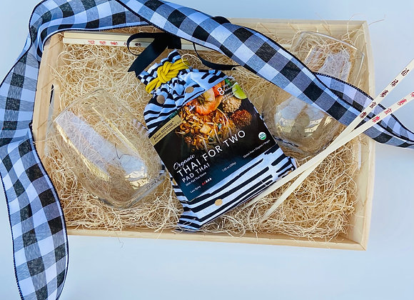 Pad Thai Dinner For Two Gift Tray