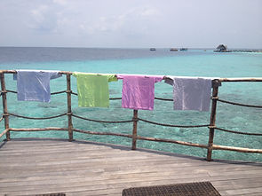 faze thermochromic colour changing t shirts on balcony in maldives