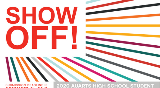 2019 AUArts Show Off! | Poster