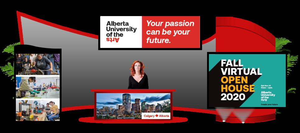 2020 AUArts | Online Booth Design