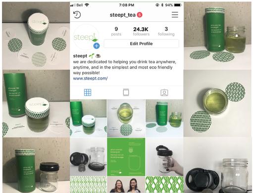 Steept, 2018: Social Media