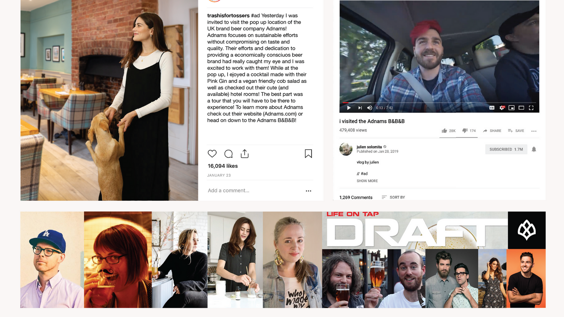 Adnams B&B&B, 2019: Promotions and Instagram