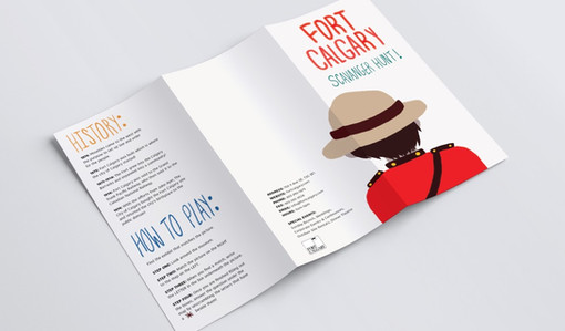 Fort Calgary Map, 2016: Cover