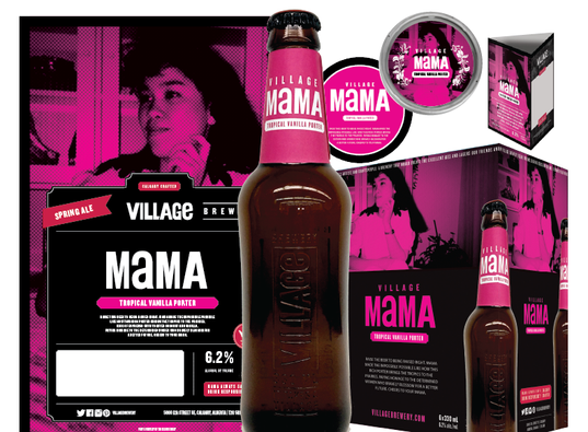 Village Mama, 2018: Branding Assets