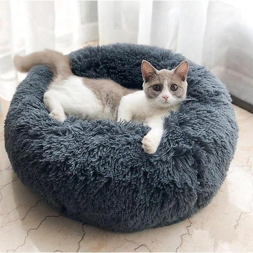 Fluffy Cat Calming Bed