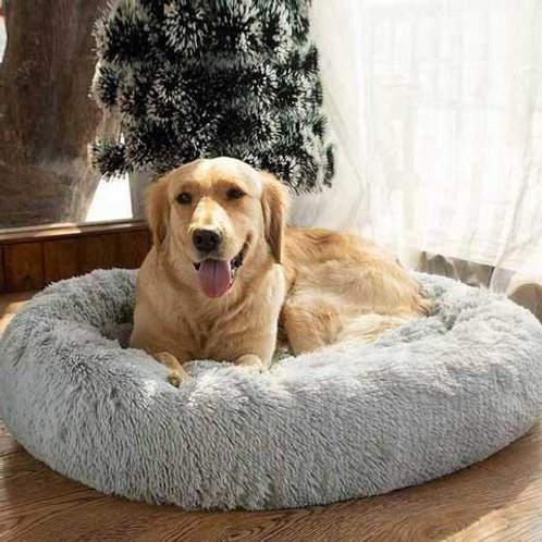 Comfy Plushy Deep Sleep Pet Bed