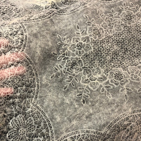 Lace paper pattern in collaboration with Bridget O'Malley