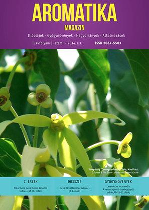 Aromatika magazin 1.3. 2014. ŐSZ