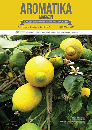 Aromatika magazin 3.3. 2016. ŐSZ