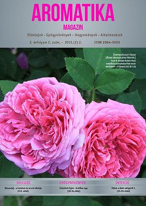 Aromatika magazin 2.2. 2015. NYÁR