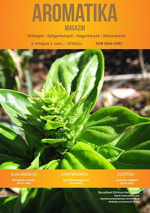 Aromatika magazin 2.1. 2015. TAVASZ