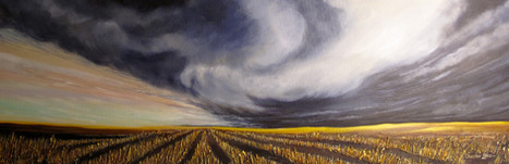 Storm Over Stubble