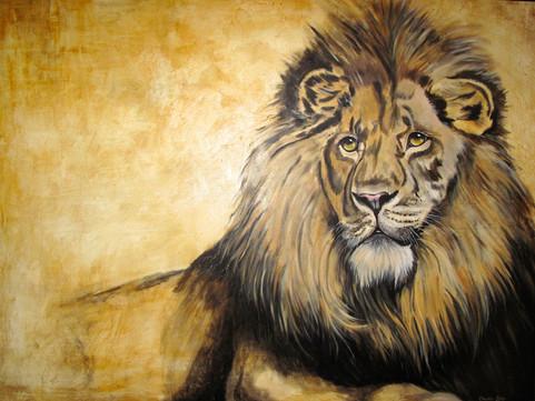 The Lion Waits