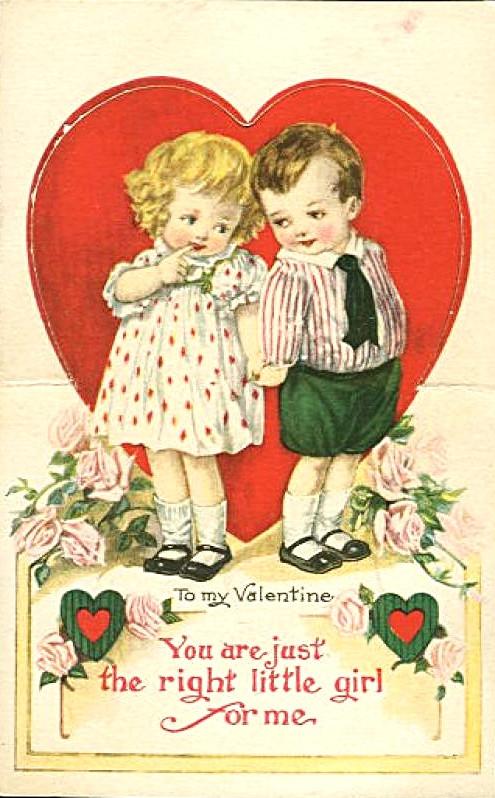 Classic Valentine Day's card
