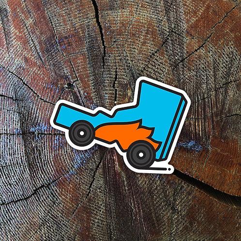Idaho. It's Wheelie Cool Sticker