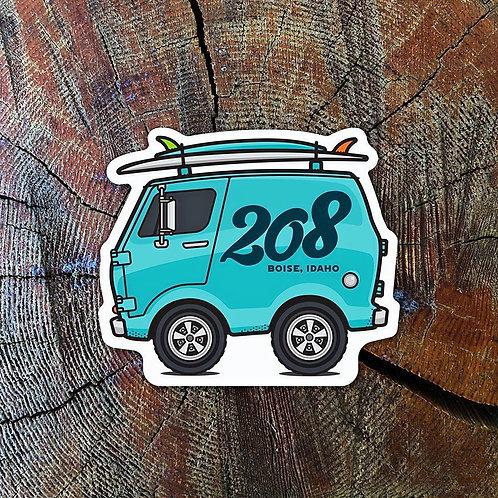 The 208 Sticker