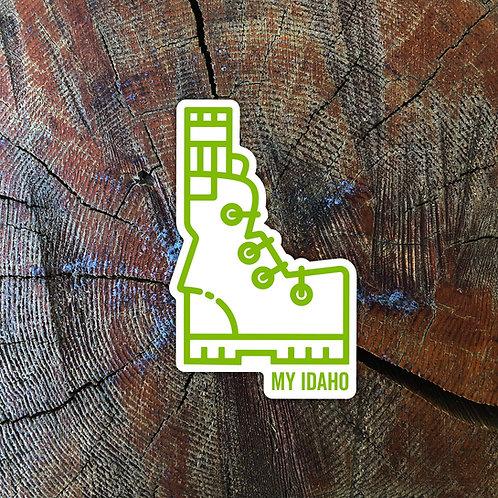 My Idaho Sticker