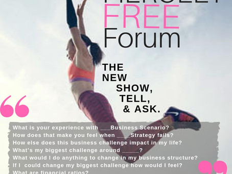 FREE FORUM FOR ALL Q&A!