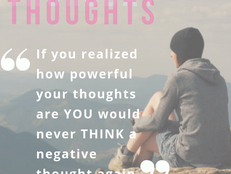 #ThinkPositive - #ThursdayThoughts