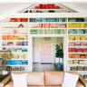 Rainbow-bookshelf-from-A-Beautiful-Mess-