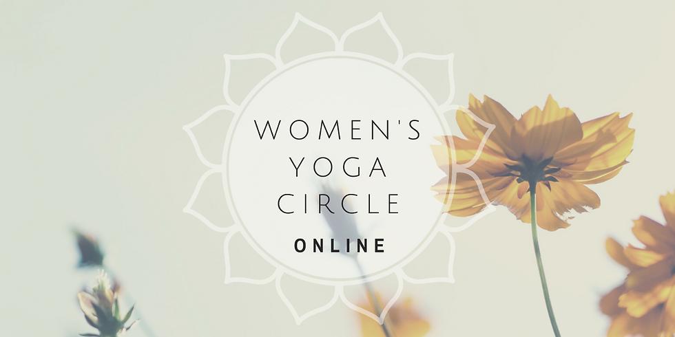 Online Womens Yoga Circle