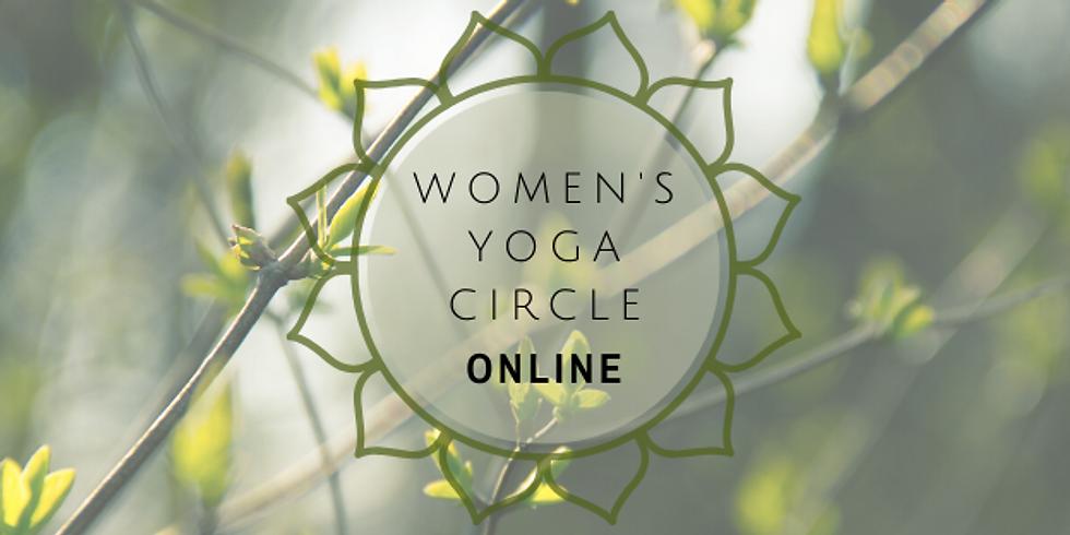 Online Womens Yoga Circle- Morning