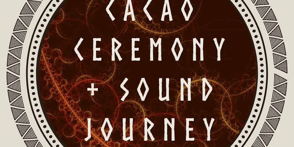 Cacao Ceremony + Sound Journey