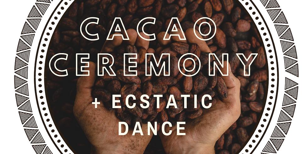 Cacao Ceremony + Ecstatic Dance
