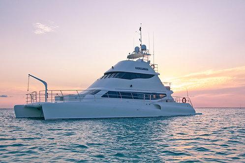 Private Custom Yacht Catamaran 72ft - Mexico Divers