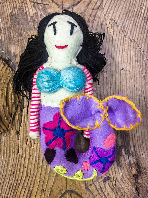 "Artisan Handmade Plush ""Mermaid"" Small"