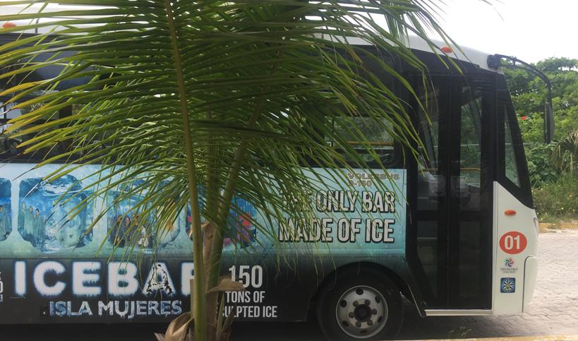 Isleños Bus | Taste of Isla | Isla Mujeres, Mexico