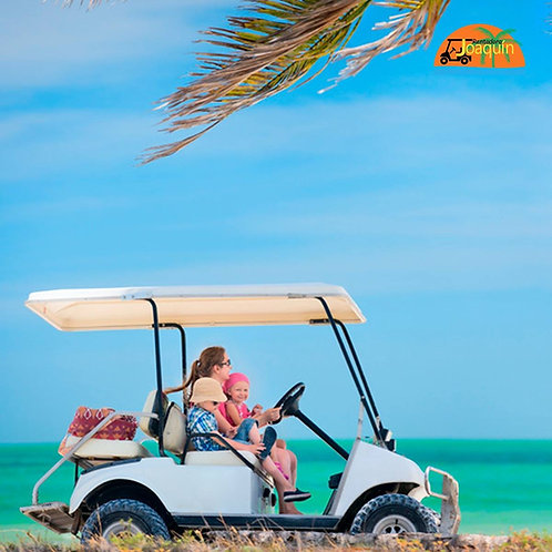 Regular Size Golf Cart - 8 Hrs Rental