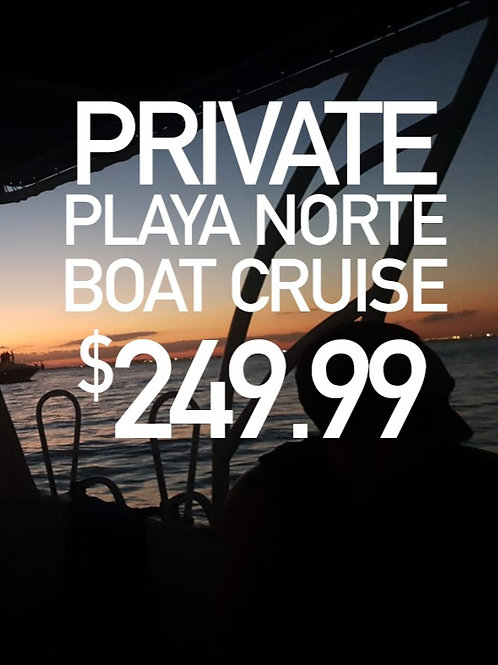 Playa Norte Boat Cruise - 4hrs