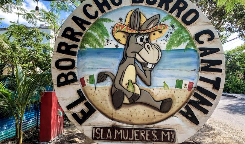 El Borracho Burro Cantina | Taste of Isla | Isla Mujeres, Mexico