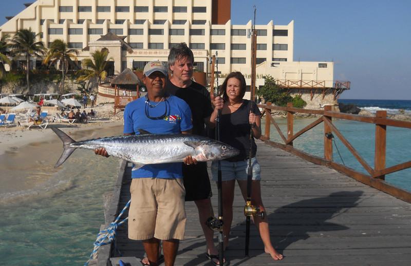 Sea Hawk Fishing   Isla Mujeres, Mexico