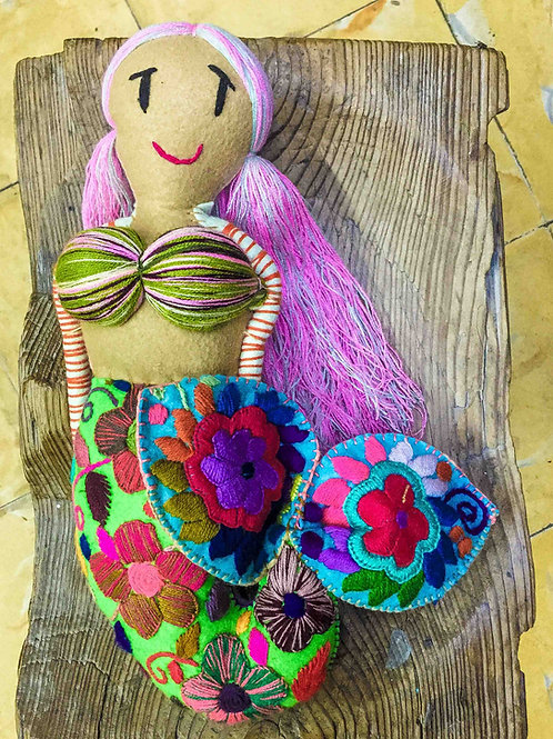 "Artisan Handmade Plush ""Mermaid""Large"