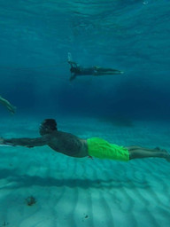Wing Diving | Isla Mujeres, Mexico
