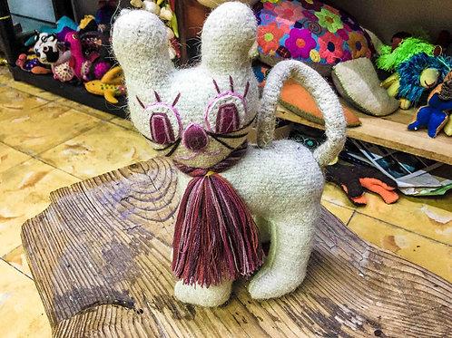 "Artisan Handmade Plush ""Gato De Luna"""