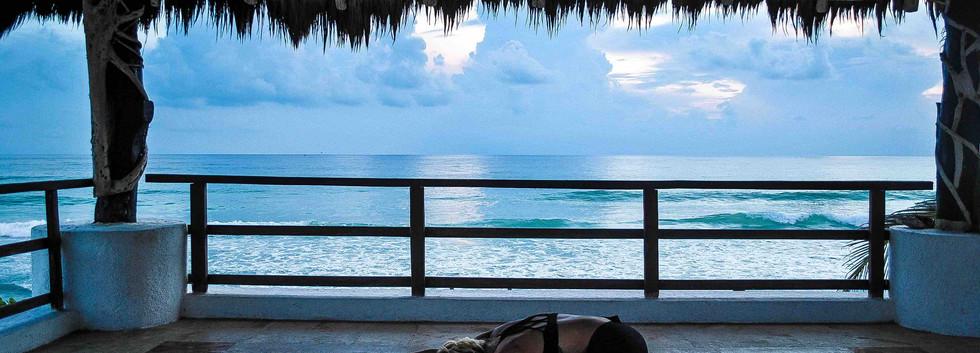 Laura Holmes Yoga Class | Taste of Isla | Isla Mujeres, Mexico