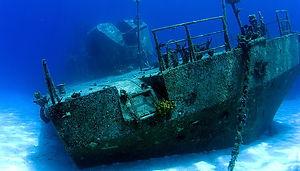 Scuba Diving Wreck C58