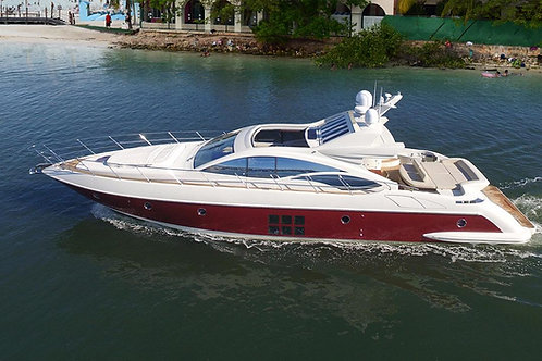 Private Yacht Azimut 64ft - Mexico Divers