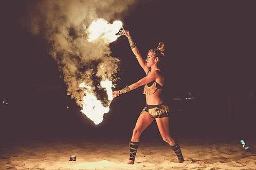 Solo Live Fire Show - 25 Min