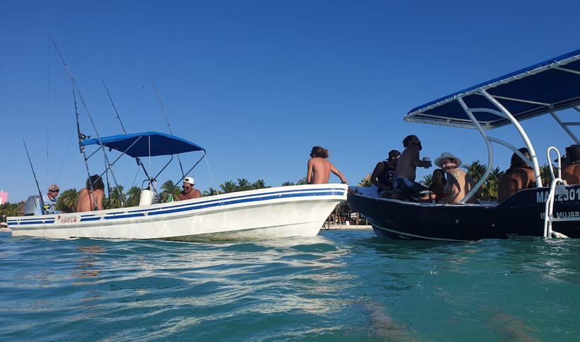 Playa Norte Boat Cruise | Taste of Isla | Isla Mujeres, Mexico