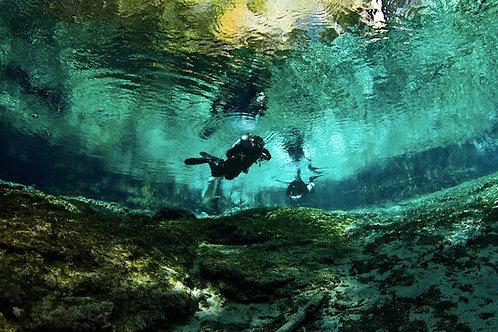 Cavern Diving - Mexico Divers