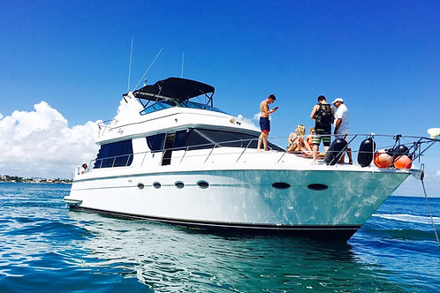 Private Yacht Carver 55ft - Mexico Divers