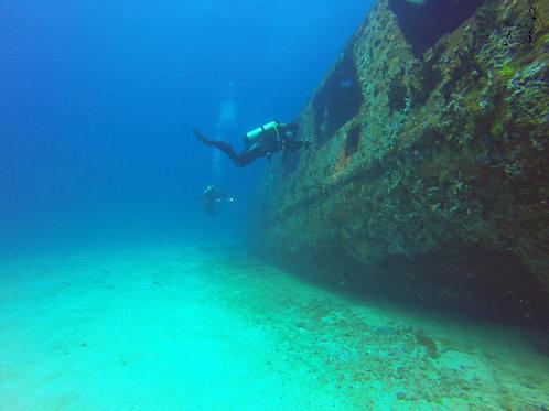 Captains Choice 2 Tank Wreck Dive - Sea Hawk Divers