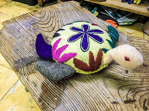 """Artisan Handmade Plush """"Tortuga"""""""