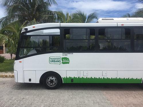 Isleno Bus - All DayPass Isla Mujeres